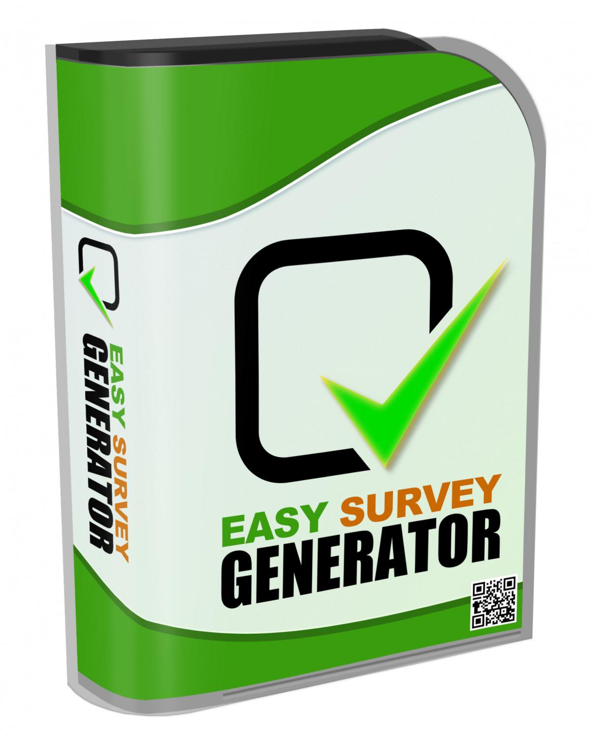 Easy Survey Generator - Instant Download Software - Reseller Rights