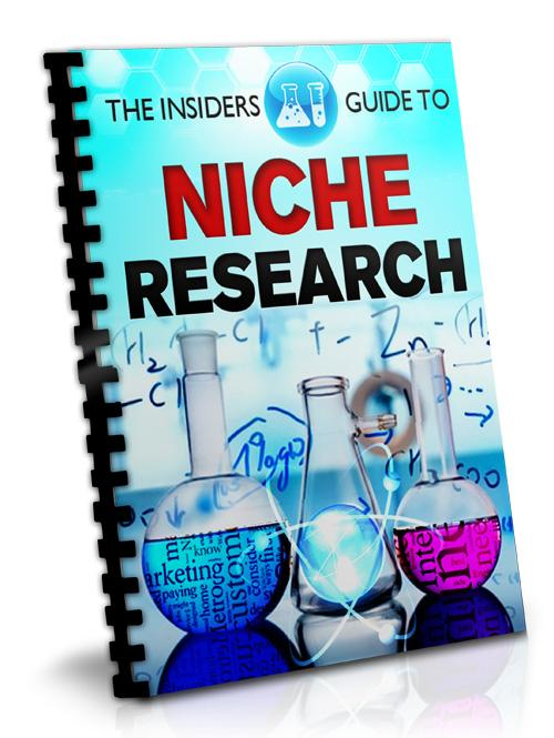 The Insiders Guide To Niche Research - PDF Ebook